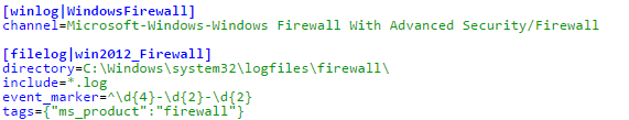 Windows Firewall mit VMware Log Insight - Agent