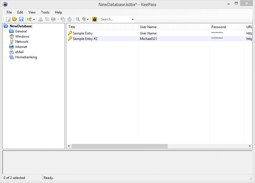 Toolbox - KeePass