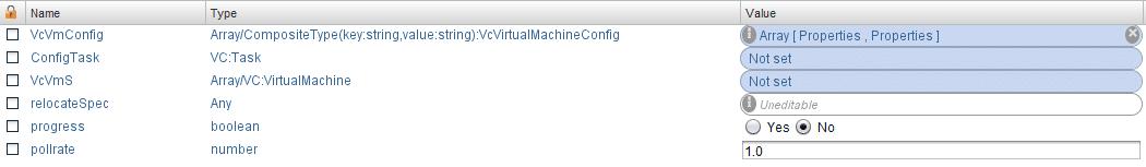 VM Hardening - vCO Attributes