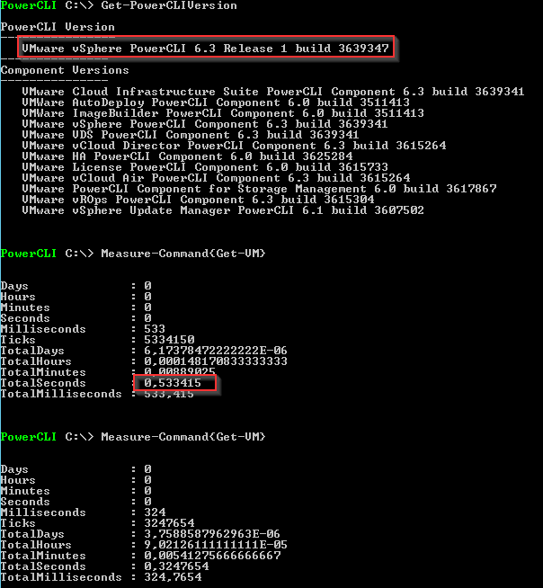 VMware PowerCLI 6.3 R1 - Get-VM 6.3