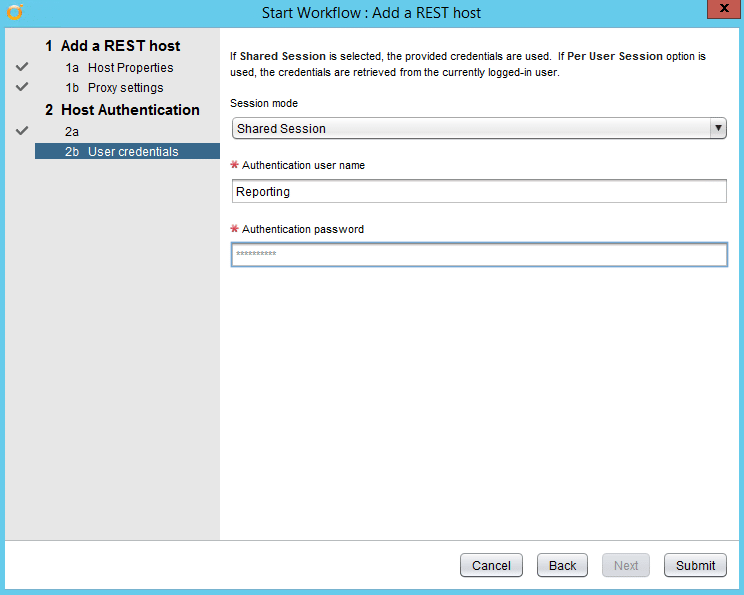 StoreOnce Reporting mit vRealize Orchestrator - Add - REST-Host 4