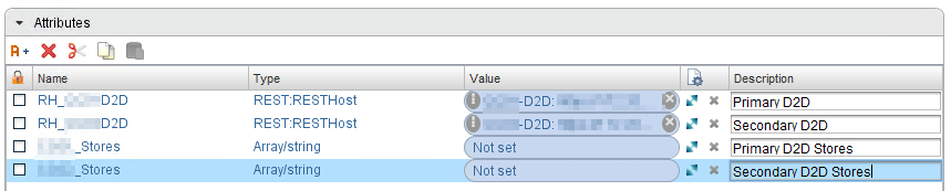 StoreOnce Reporting mit vRealize Orchestrator - Attribute