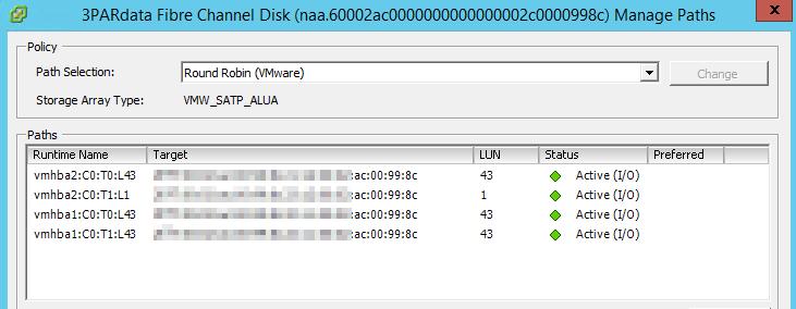 HP 3Par LUN - C#-Client