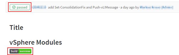GitLab CI/CD mit PowerShell - Build Status