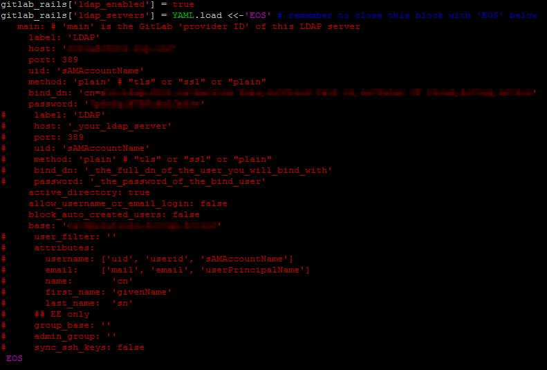 GitLab - LDAP