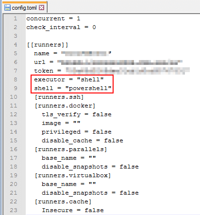 GitLab Runner - Config