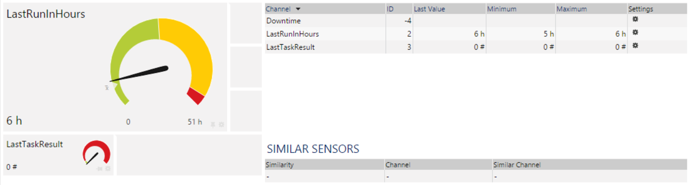 Scheduled Task Sensor in PRTG