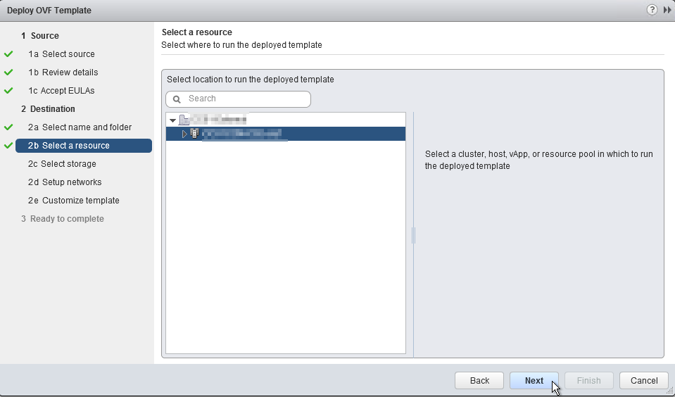 HPE OneView for VMware vCenter 8.0 Migration - Appliance Cluster