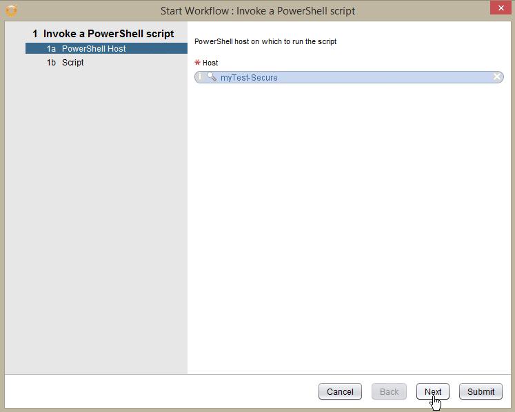 Windows Server 2016 PowerShell Host - secure test pshost - host