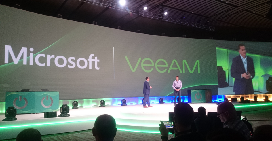 Veeam VeeamOn 2017 - General Session Microsoft