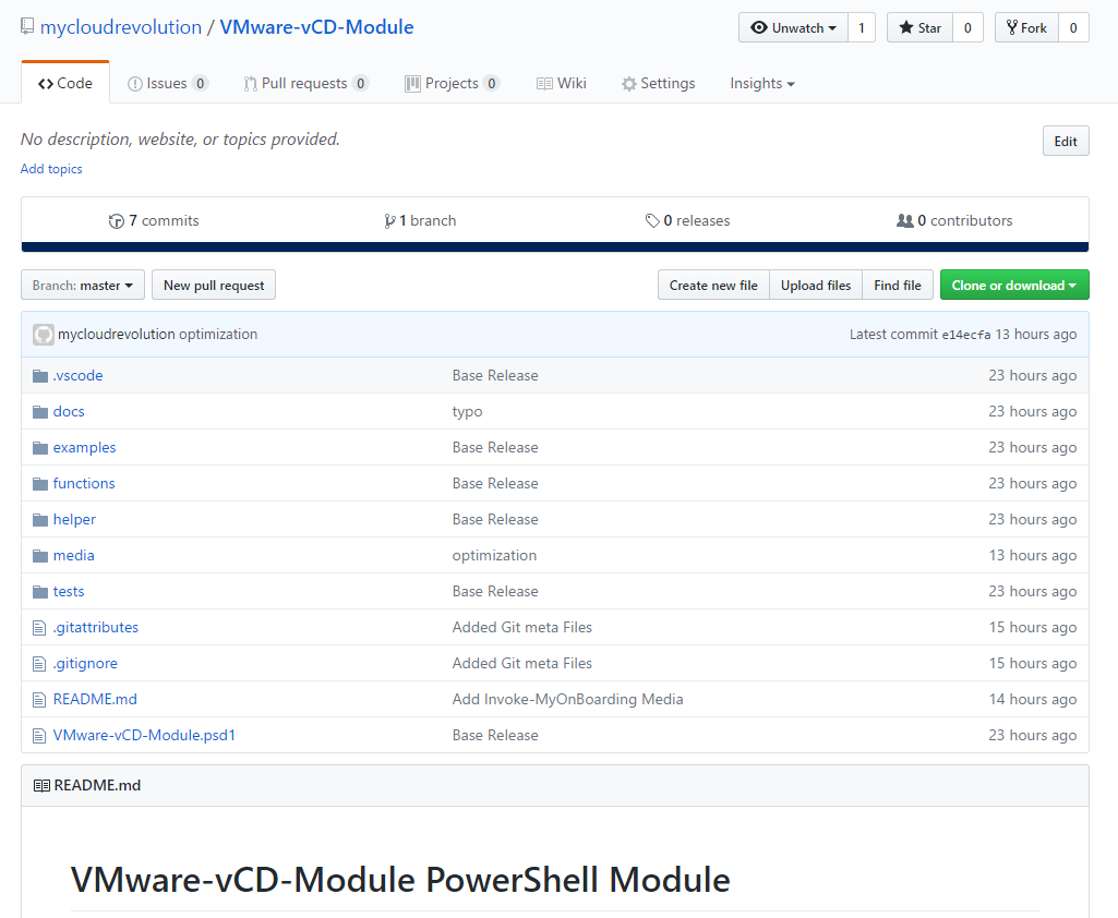 vCloud Director Customer Provisioning - GitHub Repository