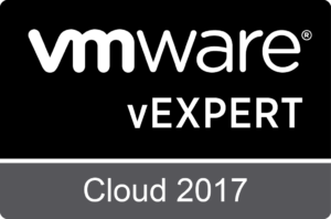 VMware vExpert Cloud 2017
