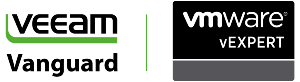 VMware vExpert und Veeam Vanguard 2018