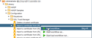 vCloud Director and vRealize Orchestrator Connection - vRO Import Certificate