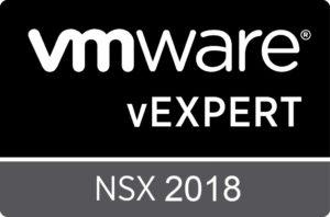 vExpert sub program - NSX