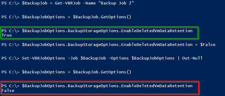 Veeam PowerShell Deep Dive - Modify Job Options