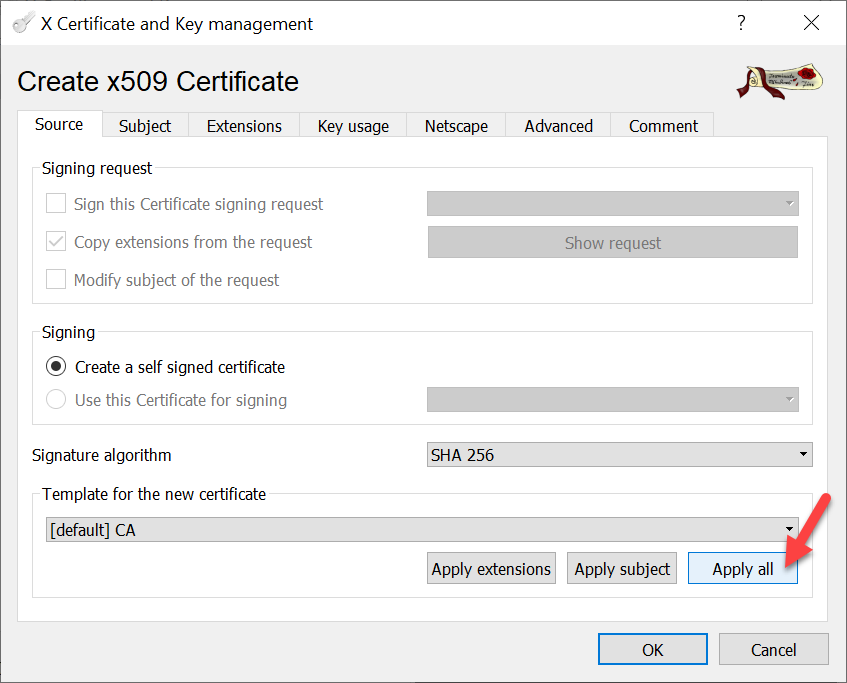 CA signed vCenter Certificate from XCA - New Root-Ca