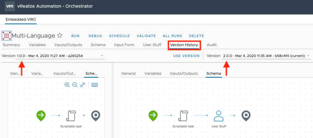 vRealize Orchestrator 8.1 Highlights - Visual Differences and Source Control